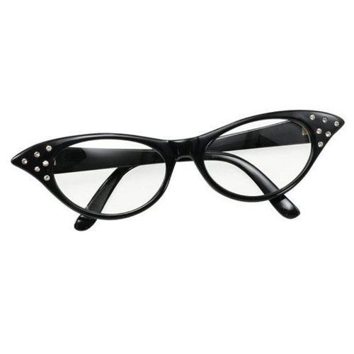 bristol-novelty-style-annees-50-pour-femme-motif-rock-n-roll-grease-caniche-echarpe-lunettes-verres-