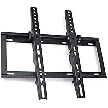 "Sunydeal Ultra Delgado Soporte para TV de Pared con Inclinación +/-15° para pantalla de 17 ""- 45"" LED / LCD / Plasma TV, Máx Vesa 400x400 y Máximo Carga 36KG, Soporte para Samsung,LG,Toshiba,Sony,Medion,Panasonic,Philips,Sharp,Dyon,Hisense ect. -Negro"