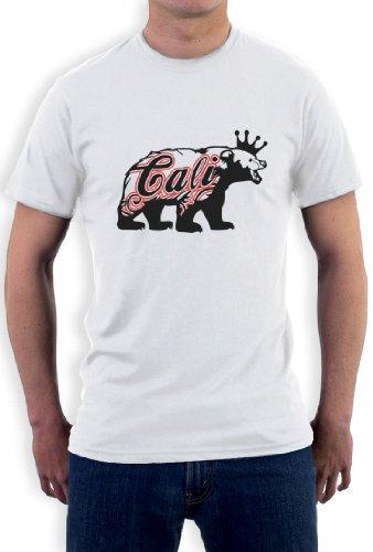 CALIFORNIA REPUBLIC BEAR T-Shirt Weiß