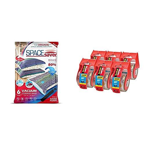 Space Saver Bolsa de almacenamiento al vacío Parent (pack de 6) 100x 80 cm