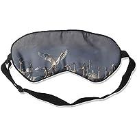 Eye Mask Eyeshade Swans Winter Fog Lake Sleeping Mask Blindfold Eyepatch Adjustable Head Strap preisvergleich bei billige-tabletten.eu