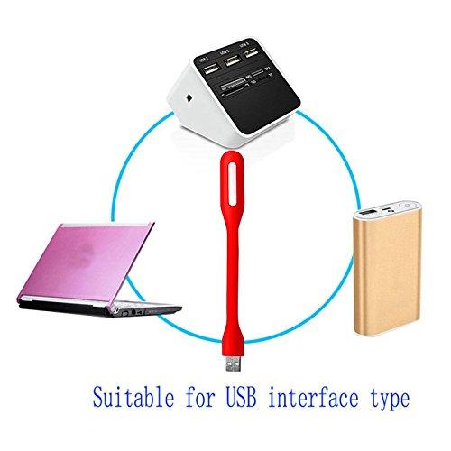 Weiß Farbe Für Computer Notebook Tisch Lichter Tastatur Auge Laptops Flexible Usb Led Licht Gadgets Tragbare Flexible Lampe Lampen & Schirme