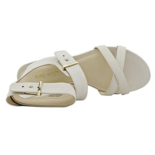 Nove in pelle occidentale Darcelle Dress Sandal Off White