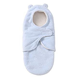 Pueri Saco de Dormir para Bebé Recién Nacido Peleles Infantiles con Sentido Confortable