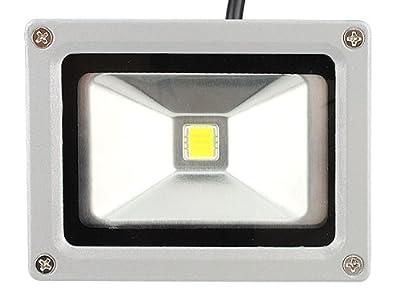 Warmweiß 10W, wasserdichtes LED Fluter Flutlichter, Strahler, Außenbelechtung, Scheinwerfer