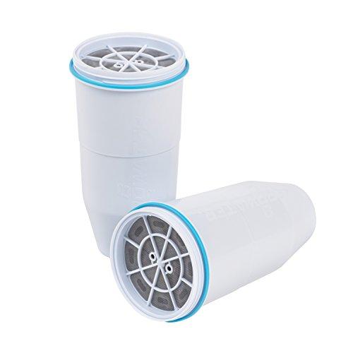 ZeroWater - Wasserfilterkartuschen / Filterkartuschen für Wasserfilterkanne ZR017 -