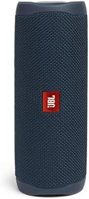 JBL Flip 5 Portable Waterproof Bluetooth Speaker (Blue)