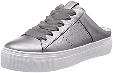 Kennel und Schmenger Damen Big Sneaker, Schwarz (Schwarz/Black Sohle Weiß), 42 EU