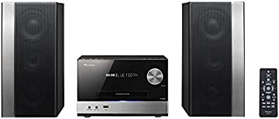Pioneer X-PM32 - Microcadena (75 W, estéreo, Streaming App, Bluetooth, WiFi) color plateado