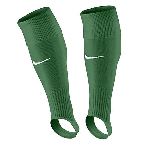 Nike Erwachsene Performance Stirrup Stegstutzen, Pine Green/White, L (Herren Socken Nike Grün)