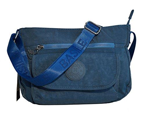 Borsa Donna Basile Linea Taormina In Tessuto Sintetico Modello Tracolla Media Jeans