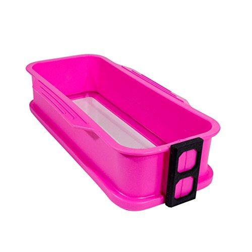 Lily cook KP5154 Backform mit Abnehmbarem Boden, Silikon, Pink/Blau/Grün
