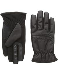 isotoner Men's Smartouch Nylon and Fleece Gloves