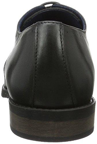 Bianco Robe Lux Shoe Exp16, Chaussures À Lacets Homme Noir (noir)