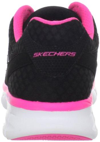 Skechers Synergy 11683, Sneaker donna Nero (Nero/Blue)