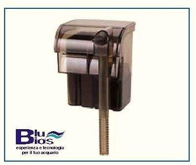 Filtro appeso Blu Bios Mini Flow 200lt/h 3,1w - Sistema a cascata di filtraggio dell'acqua