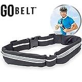 YYGIFT Laufgürtel für Handy Smartphone Jogging Gürtel Dehnbares Hüftband mit Reflektierendes Sicherheitsband für Outdoor Fitness Radfahren Yoga Reisen Wandern Sport