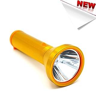 Ambertech New Arrival Rechargeable Flashlight Lanterns Torch Light With All Aluminium Alloy(Golden)