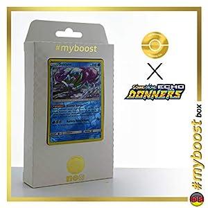 Suicune 59/214 Holo Reverse - #myboost X Sonne & Mond 8 Echo Des Donners - Box de 10 Cartas Pokémon Alemán