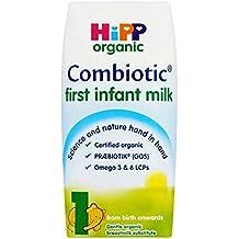 HippLeche Orgánica Primera Bebé Combiotic 1 A Partir Del Nacimiento 200ml (Paquete de 6)