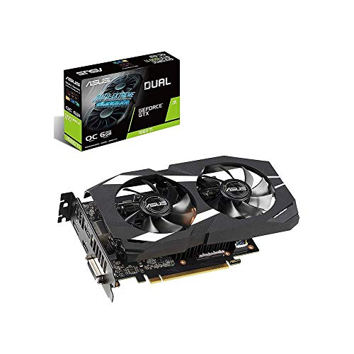 ASUS Dual GeForce® GTX 1660 Ti OC Edition 6GB GDDR6 Graphic Card