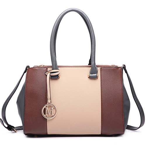 Miss Lulu , Damen Tote-Tasche 1643 Brown