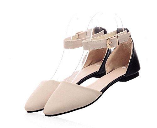 Frauen Sandalen böhmischen Flip Flop Sommer Perle flache Ferse Schuhe Casual Slippers Diamant Sandalen große Größe Schuhe apricot
