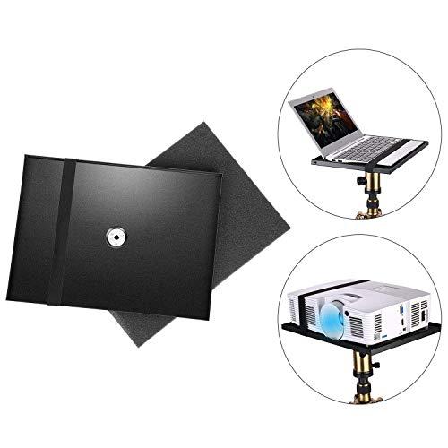 """Neewer Supporto Tavolino per Laptop Notebook Proiettore con Vite Adattatore 1/4"""" a 3/8"""", Molto Usato su Palco, in Sala Conferenze, in Esterni, in Aula & Auditorium (Treppiedi NON Incluso)"""