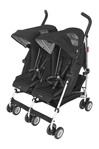 Opiniones maclaren bmw carrito gemelar color negro for Carrito bebe maclaren