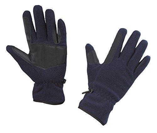 Kerbl Handschuhe Fleece-Reithandschuhe, Marine, XL