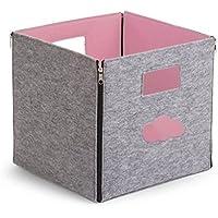 Preisvergleich für Eimer Lagerung in Filz pink Childhome