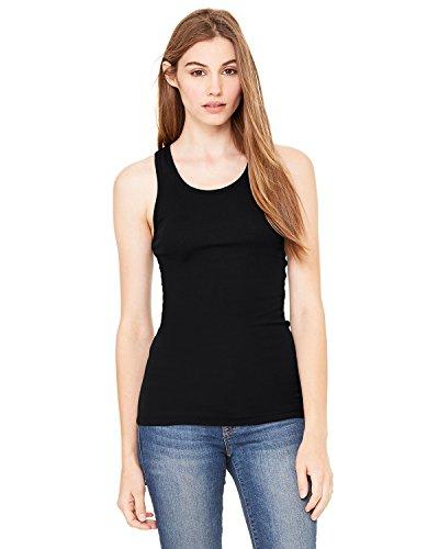 Bella - T-shirt de sport - Asymétrique - Femme Noir