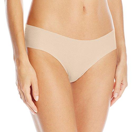 Hanro Damen Slip Invisible Cotton, Elfenbein (powder 1381), 42/44 EU (Herstellergröße: M) Joy Slip