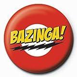 The Big Bang Theory - Bazinga - Ansteck Button Ø2,5 cm