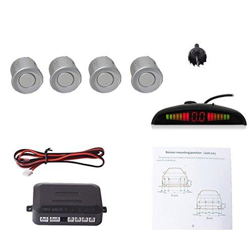 Cocar Coche Auto Vehículo Visual Reserva Radar Sistema con 4 Estacionamiento Sensores + Distancia Info Vídeo...