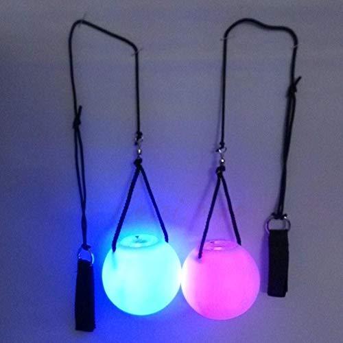 Wide.ling Nachtleuchtender Poi LED mehrfarbigen Leuchtpoi Langsam Fading Multicolour Leuchtpoi Luminous Pois Led. Wide Led