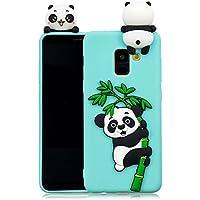 Everainy Samsung Galaxy A8 2018 Silikon Hülle Ultra Slim 3D Panda Muster Ultradünn Hüllen Handyhülle Gummi Case... preisvergleich bei billige-tabletten.eu