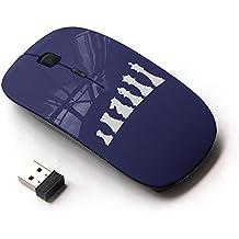 Graphic4You Schach Spiel Schach-Vorstand Ergonomische Schnurlos USB Wireless 2.4G optische Maus PC Mit Empfänger