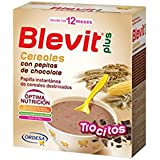 "BLEVIT PLUS CEREALES CON PEPITAS DE CHOCOLATE ""TROCITOS"" 600g"