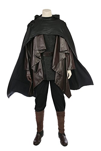 Star Wars 8 The Last Jedi Luke Skywalker Outfit Cosplay Kostüm Maßanfertigung