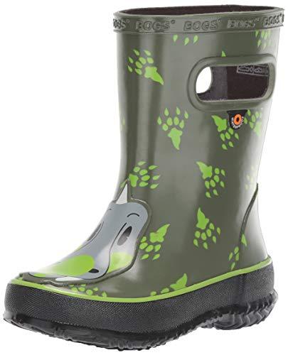BOGS Baby Wellingtons Printed Waterproof Kids Boots UK 3-9 UK 9, Dino- Blue Multi
