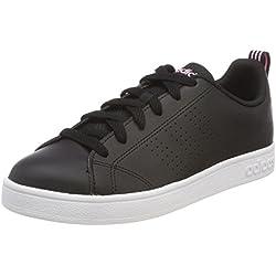 Adidas Vs Advantage Cl, Zapatillas de Deporte para Mujer, Negro Negbas/Rossua 000, 36 EU