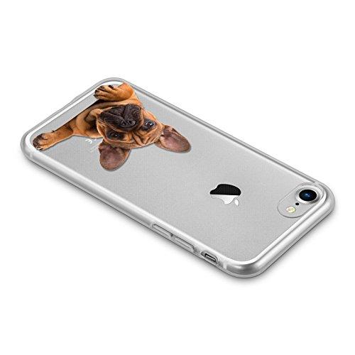 Cover custodia case per iPhone 5 trasparente ultra sottile - semi...