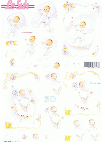 Baby (680.018) - 3D Stanzbogen