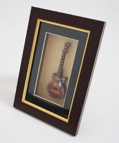 Cherrystone 4260180889598 Miniatur Musikinstrument Bilderrahmen E-Gitarre (FGC)