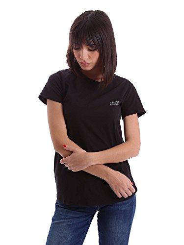 Liu-jo T66012J7836 T-shirt Donna Nero S