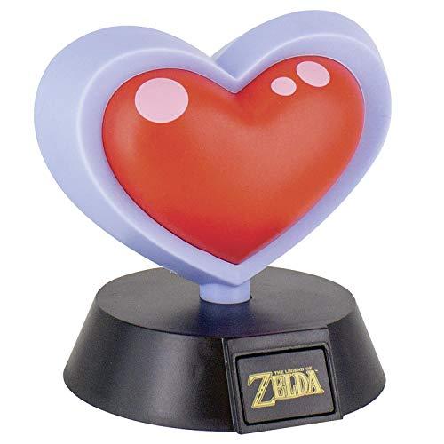 Paladone Lámpara de Mesa 3D The Legend of Zelda - Heart Container