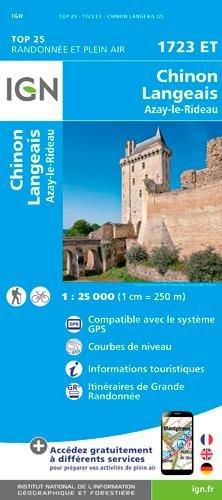1723ET CHINON-LANGEAIS-AZAY LE RIDEAU par Collectif