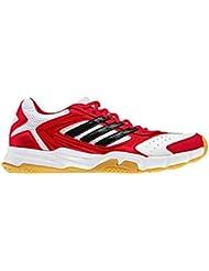 Adidas Replique plumes intérieur Cour Chaussures [Rouge]