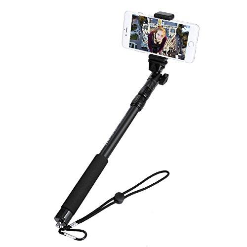 F9BEST Nouveau Mode Etanche Homdox Manfrotto Selfie Bâton noire pour IPH0NE GoPro 2,016 F9best